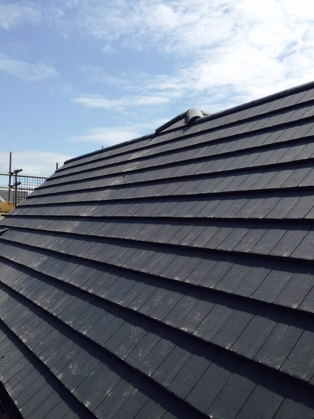 Four In A Block Re Roof Evesham G Garmson Roofing