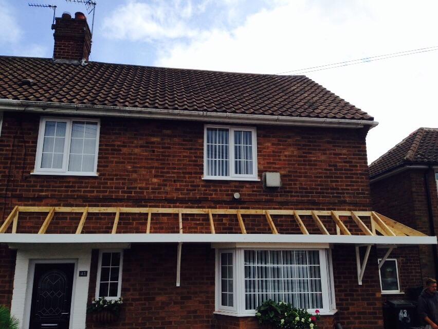 New Porch And Canopy - Bilston & New Porch u0026 Canopy u2013 Bilston Wolverhampton | G.Garmson Roofing