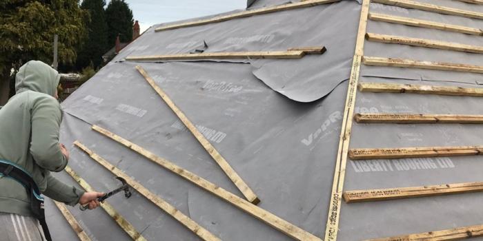 Extension Roof - Council Bungalow - Tipton (1)