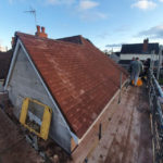 Extension Roof - Marley Plain Tile - Harris Hips - Dry Ridge and Valley System - Council Bungalow - Tipton