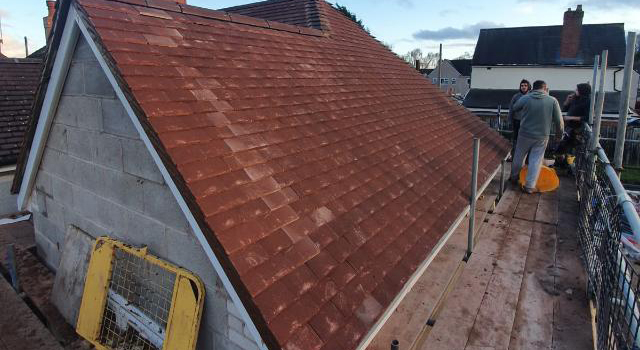 Extension Roof - Council Bungalow - Tipton (5)